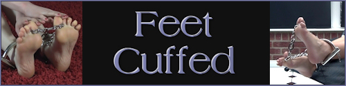 Feet Cuffed: SEXY GIRLS BAREFOOT & CUFFED